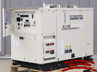 Máy phát điện Kubota 19.6kva KJ-20