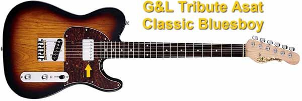 Guitarra Eléctrica Custom Telecaster G&L Tribute Asat Classic Bluesboy