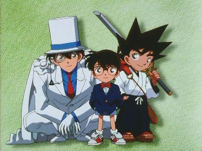 OVA 01 : Conan vs Kid vs Kaiba - Pertempuran Besar untuk Pedang Berharga!!