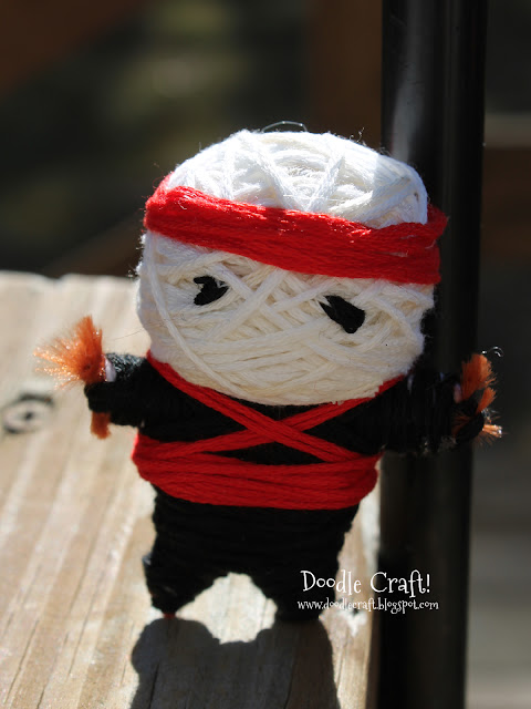 Make Your Own String Voodoo Dolls