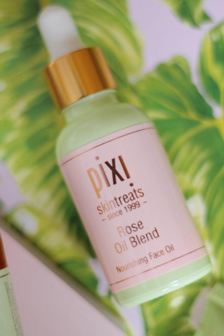 Pixi beauty rose oil blend nourishing face oil review