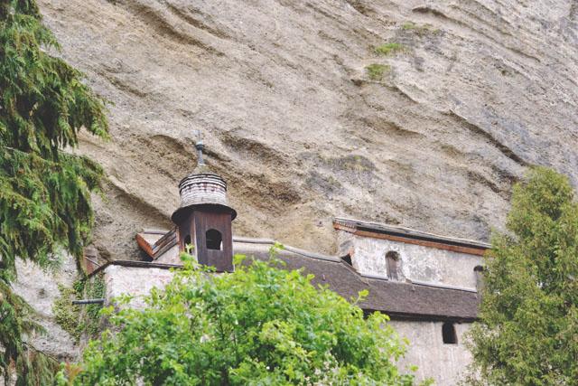 Petersfriedof Katakomben Salzburg
