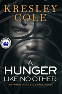 romance novel covers, paranormal romance, Royal Pick, A Hunger Like No Other by Kresley Cole