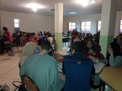 إفطار جماعي بالثانوية الإعدادية سيدي بنحمدون المديرية الإقليمية ببرشيد