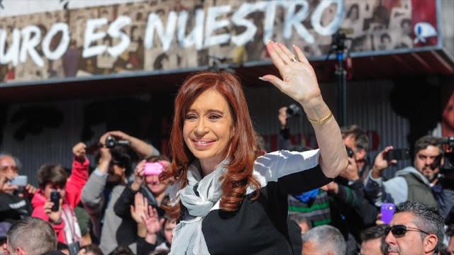 Cristina Fernández denuncia cambios desfavorables en materia de DDHH
