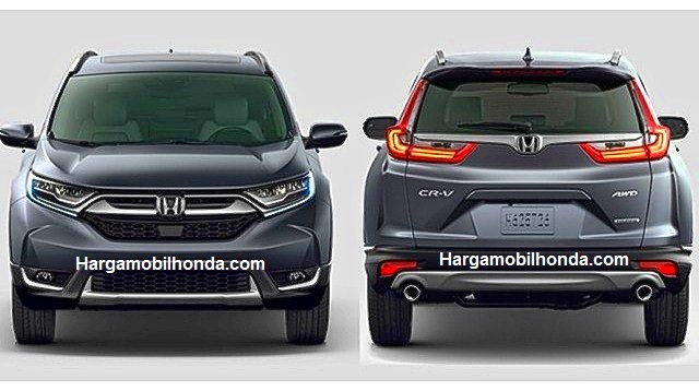 Harga Honda All New CR-V 2017