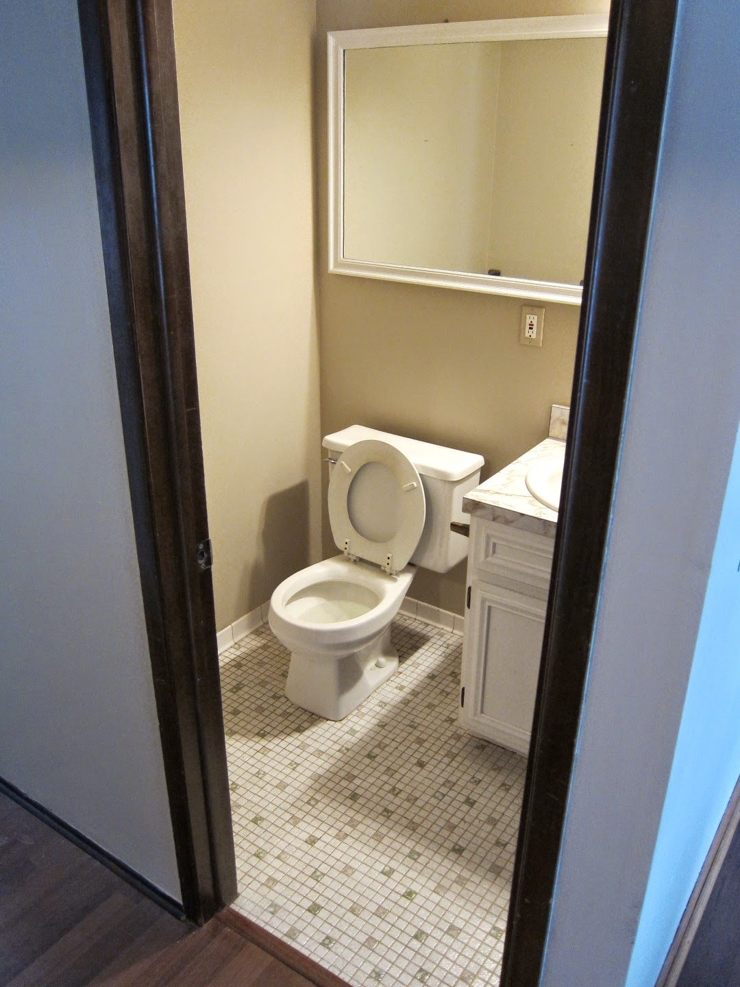 first floor bathroom remodel, how to remodel a half bath