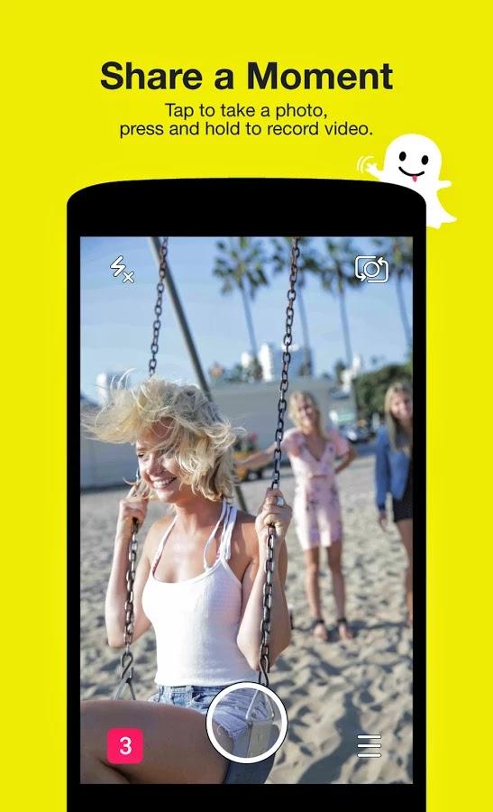 تحميل تطبيق سناب شات Snapchat للاندرويد برابط مباشر