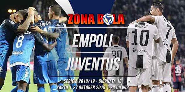 Prediksi Bola Empoli vs Juventus Liga Italia