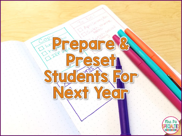 We know that we need to do our best to teach students the academic and life skills that they will need for next year and the year after, but there are some other ways we can help prepare students. We need to take a look at the differences in programs and preset our students.