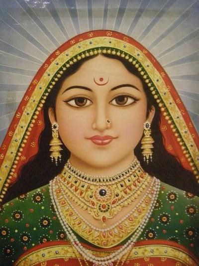 Hindu Goddess arundhati maa pic