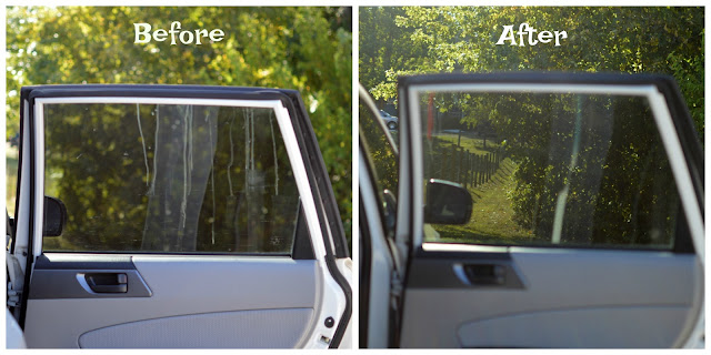 Meguiar's glass cleaner results