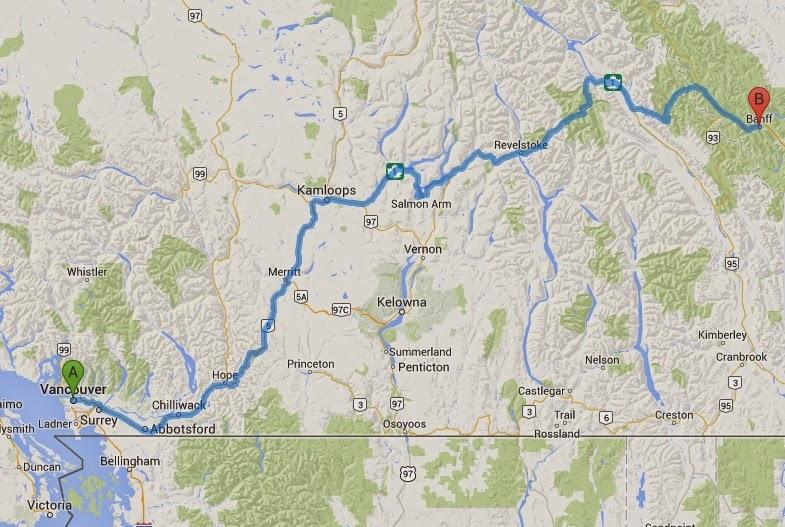 Usa Kanada Roadtrip Osa 7 Banffista Kamloopsiin Matkablogi