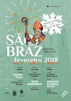 Programa Festa de São Braz 2018 em Aveiro