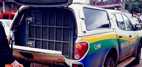 Viatura da Policia Militar Rondônia
