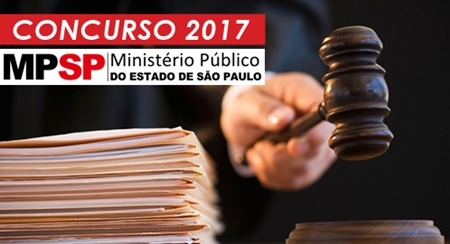 Concurso MP-SP 2017