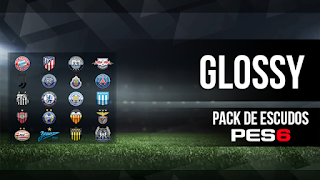 PES 6 HD Glossy Logo Pack Season 2017/2018 by PES Logos