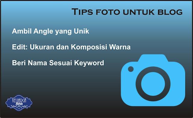 Tips Foto Untuk Blog