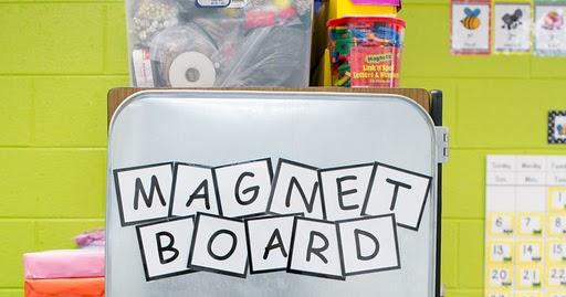 our amore blog teacher tip tuesday magnet board. Black Bedroom Furniture Sets. Home Design Ideas