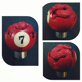 costum gear shift knob