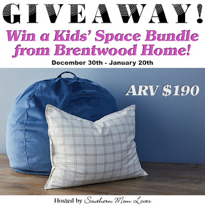 Enter the Kids' Space Bundle Giveaway. Ends 1/20