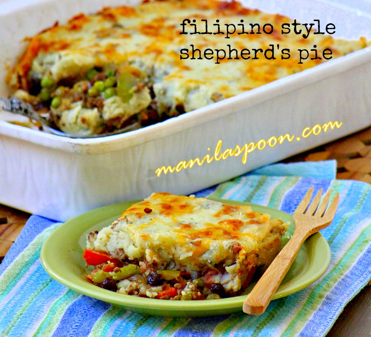 Shepherd's Pie (Filipino-style)