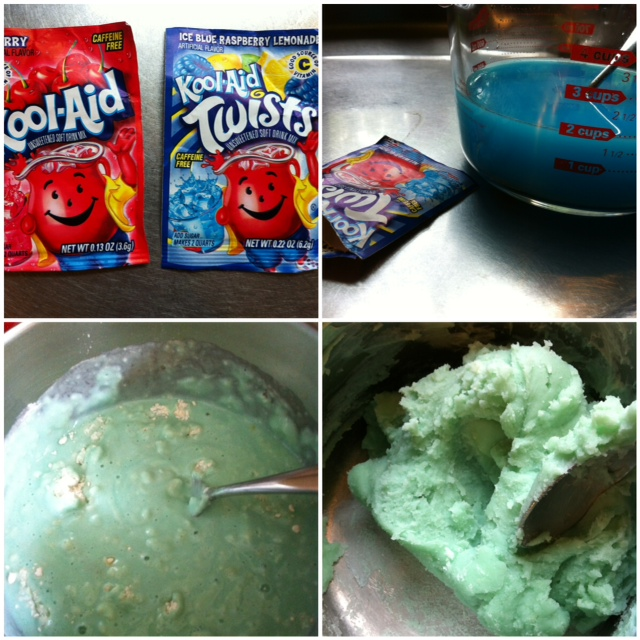 A Childhood List: 125) Kool Aid Play Dough
