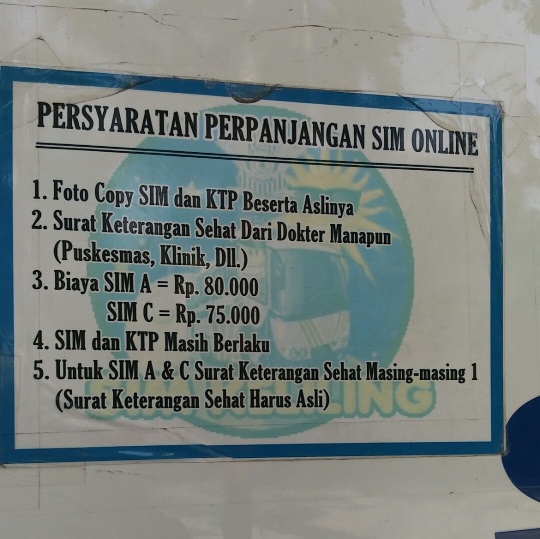 Perpanjangan Sim Luar Kota Surabaya