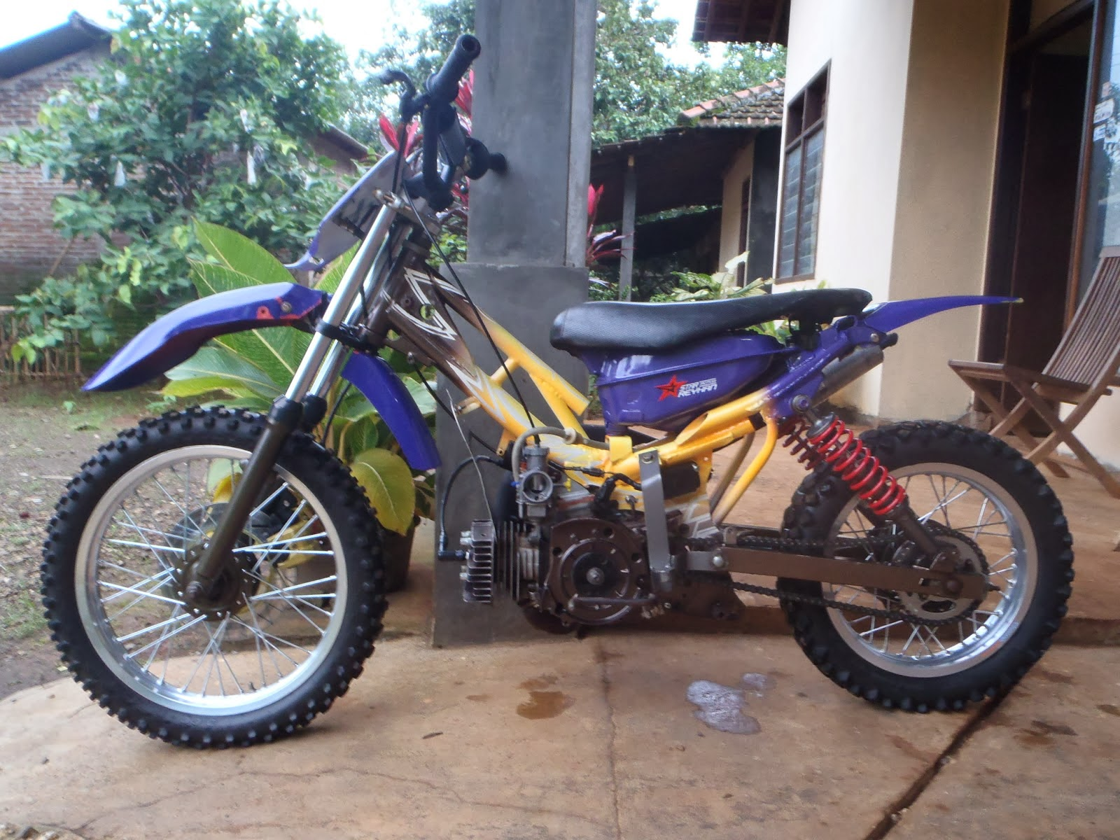 69 Modifikasi Motor Cross Fiz R Terkeren Klobot Modifikasi