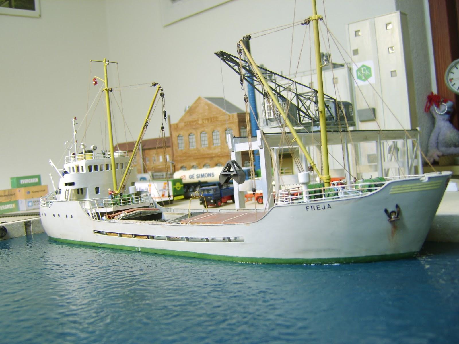 Familie Nielsens Bane/Modeltog: Skibe.