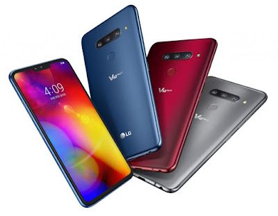 LG V40 ThinQ with Triple rear camera & Dual front camera Launched