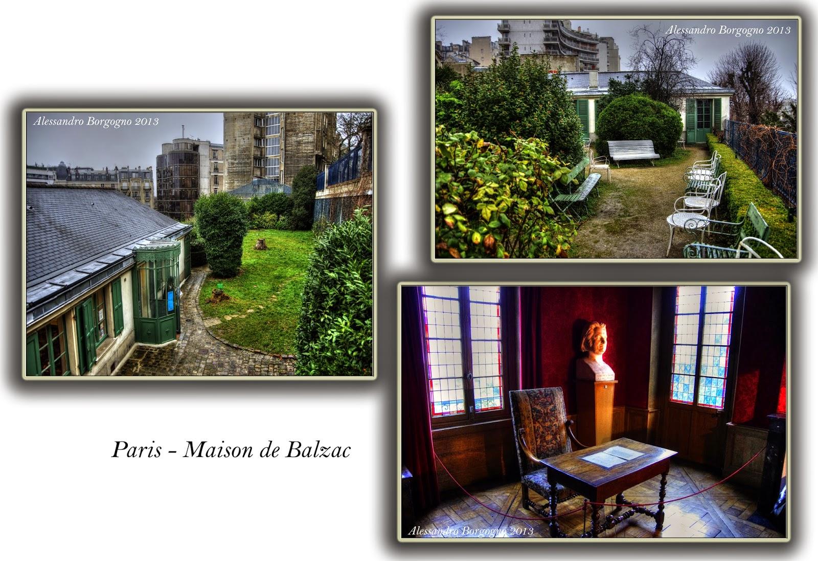 Parigi - Maison de Balzac