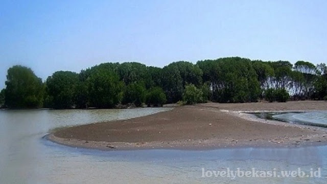 Panorama alam Pantai Muara Beting