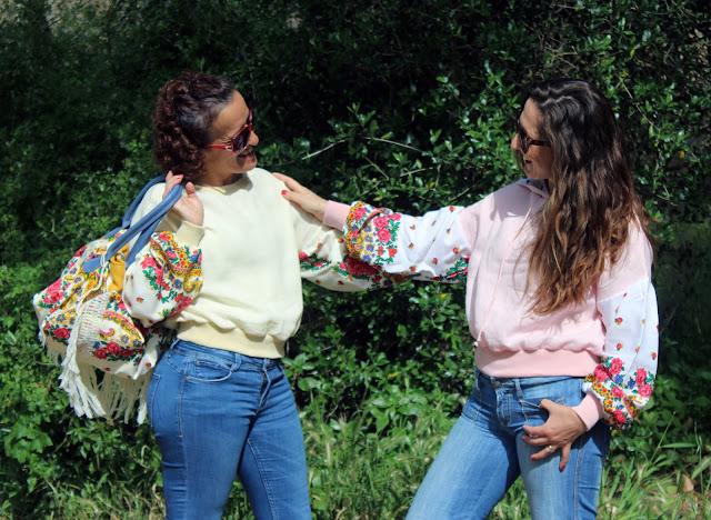 sweatshirt - Linhas D'Anjo