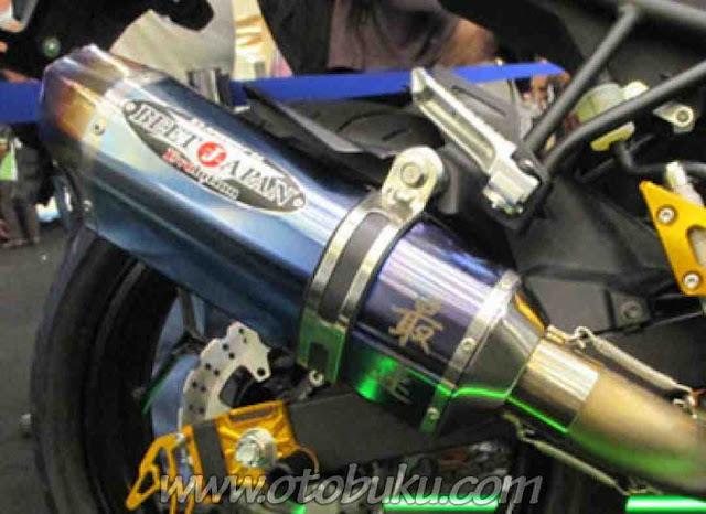 Foto Knalpot Nassert Beet di Motor Ninja 250