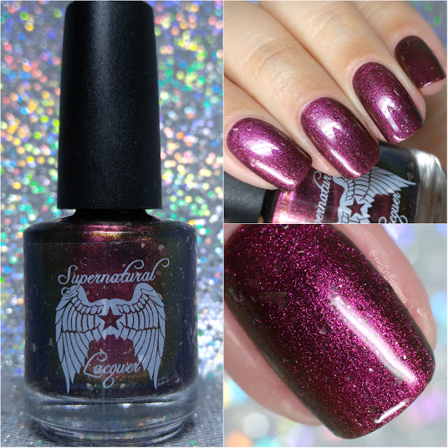 Supernatural Lacquer - Don't Fall Asleep |  Halloween 2017 LE