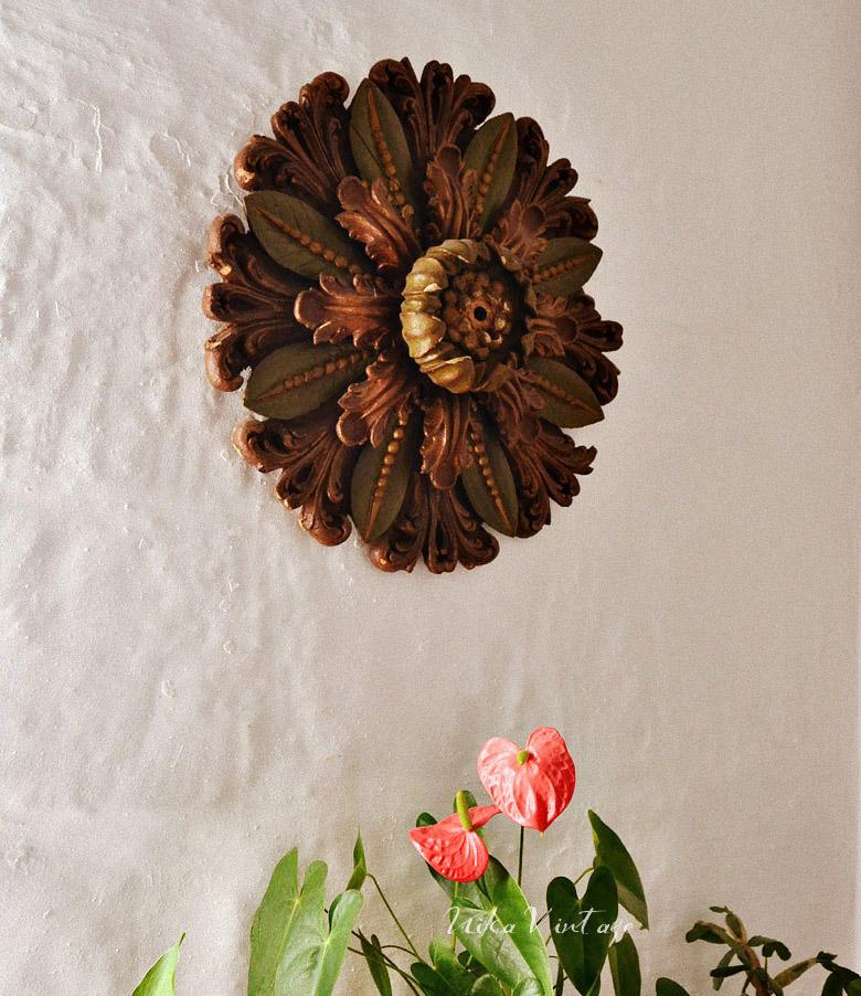 Adoro las paredes originales, en casa utilizo cosas que antes tenían otras utilidades. ¿Te vienes a verlo?