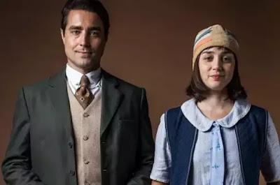 Almeida e Clotilde. Foto – Globo.