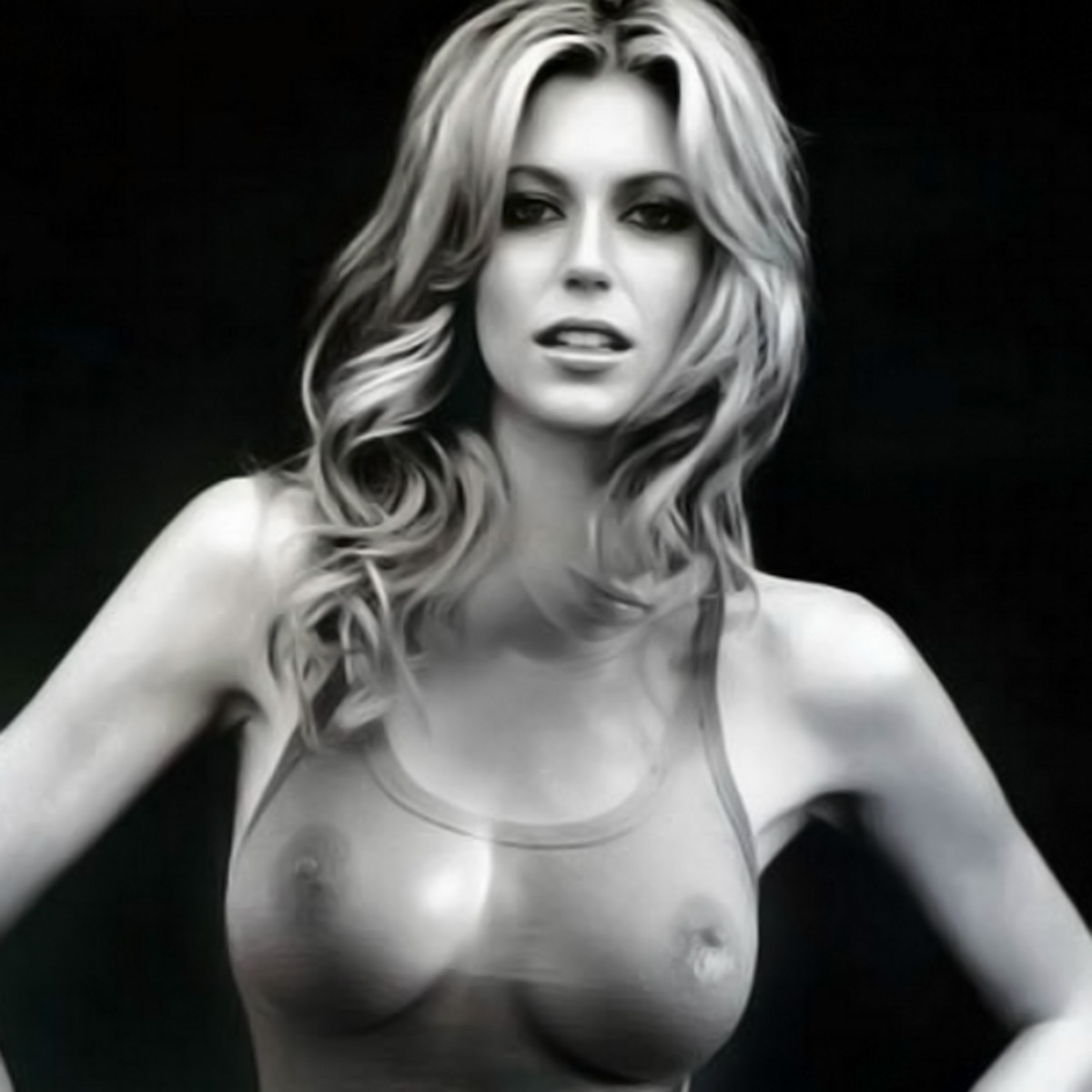 Diora baird's stunning proportions porn pic
