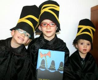 Libro infantil Los tres bandidos