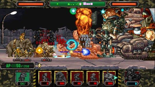 Tampilan Game Metal Slug Attack