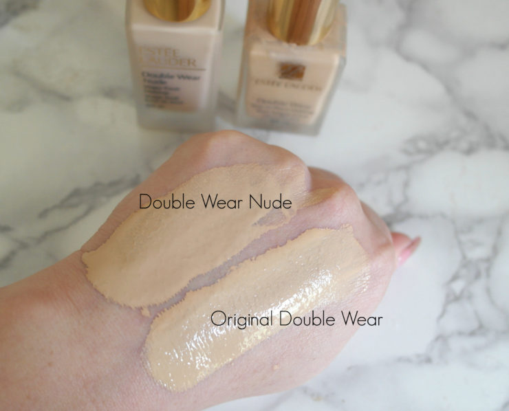 (Photo Credits: Www.soyouregettingmarried.com). Estee Lauder Double Wear  Nude Water Fresh Makeup Swatches Review Singapore