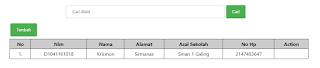 perintah sql menampilkan data tertentu dengan primary key