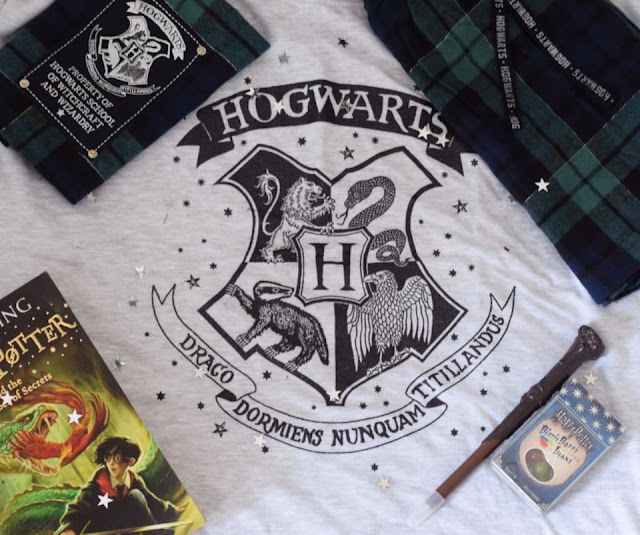 Ladies Harry Potter Hogwarts Shortie Pjs