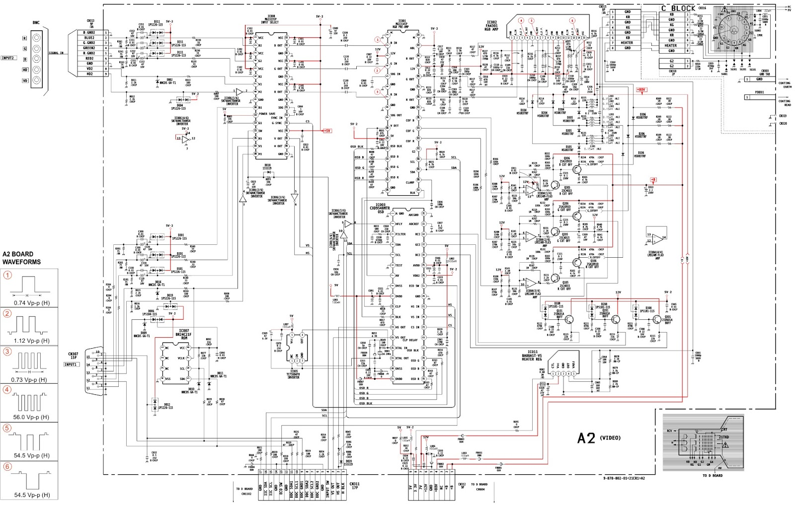 playstation 1 circuit diagram