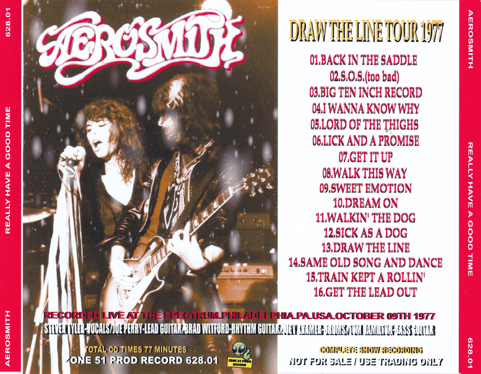 Aerosmith Bootlegs Cover Arts Really Have A Good Time
