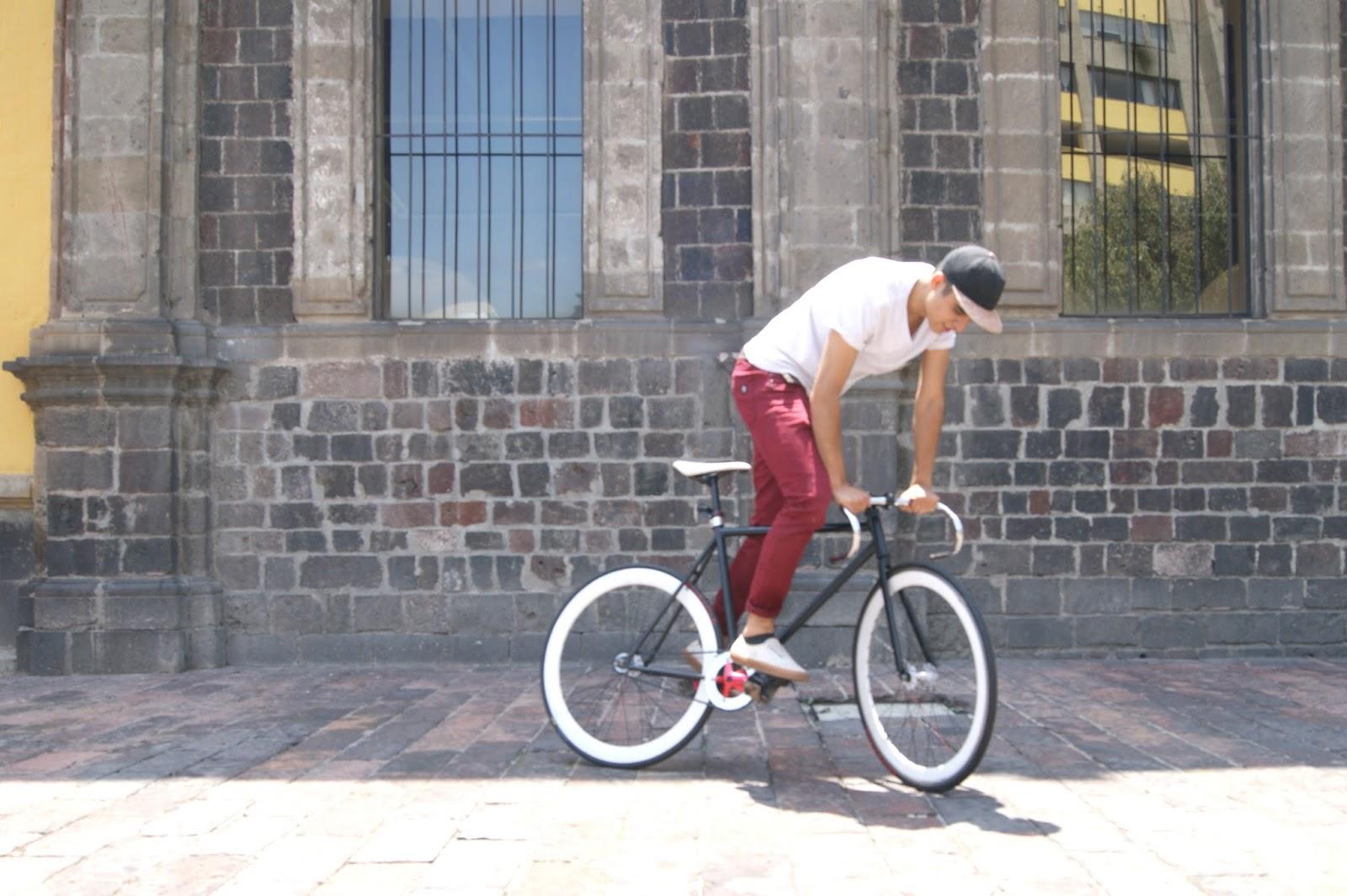 ride bike fixed