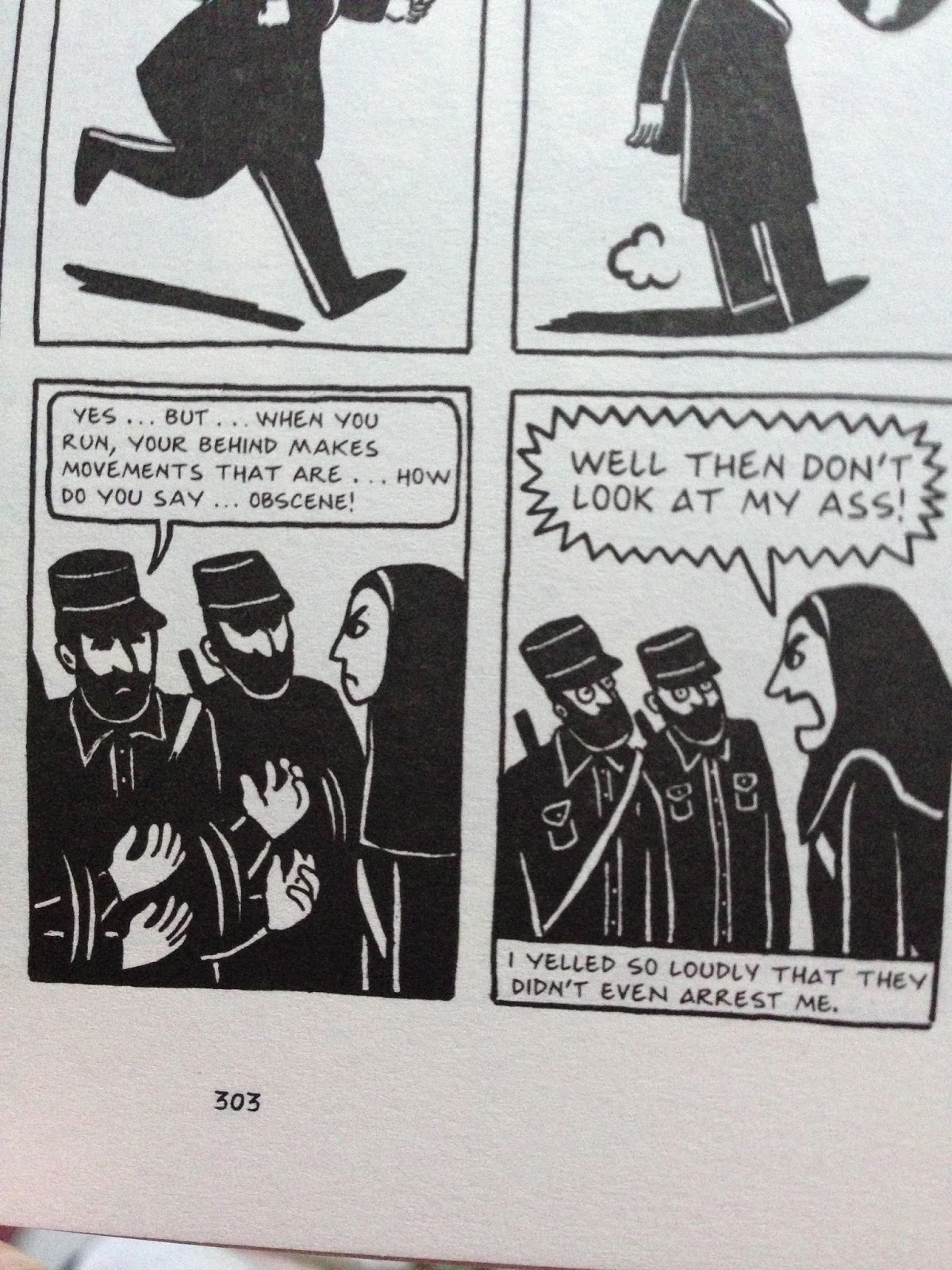 devouring texts devouring books persepolis by marjane satrapi and hey if you already have can we talk about feminism and religion and things in the comments please or actually can we just do that