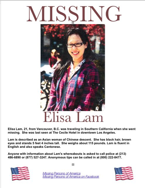 1301 Conspiracy Theories: The Death of Elisa Lam by Diego Guevara