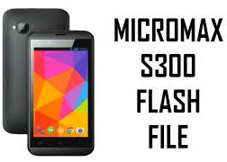 Micro-max S300 Firmware Flash Stock ROM Download (Flash File)